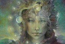 """Spirit  I Am..*** / Intuitive and psychic from a very young age, my connection and dialogue through the """"veil"""" has been a constant through my life... I Am Grateful....*** / by Gabrielle Judd"""