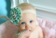 Little Girl Accessories / www.emmaraedesigns.etsy.com / by Hannah Forster