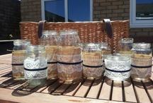 Jars/tins/vases