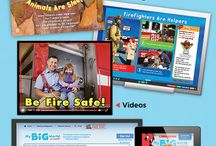 My Big World Magazine / This delightful magazine gets early learners school ready with simple nonfiction, seasonal themes, and hands-on learning activities. It also comes with online resources, like digital issues, videos, Text-to-Speech audio, and more!  / by Scholastic