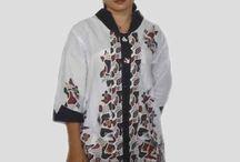 Baju Batik Wanita Modern, Blus Batik B1305