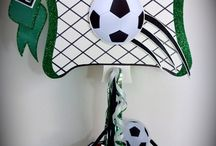 soccer party decorations / Soccer and World Cup party decorations