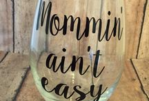 Wine Glass Humor and Ideas