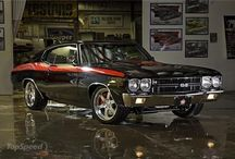 Beautiful Old Chevelles / Chevelles up to 1985 / by Ron Davis
