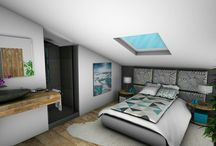 Chambres adultes / Chambres créées par Crhome Design