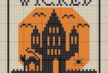 Halloween Cross Stitch and Needlework Patterns