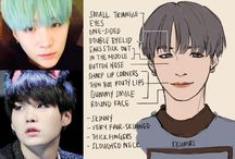 How to draw BTS