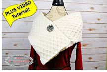 Crochet Scarves / This board will have free and paid pattern all related to scarves that are made using crochet