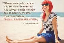 Frases & Poesia  / by vivi lima