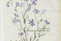 Jardin brodé / Point de croix jardin crosstich Embroidery point compté