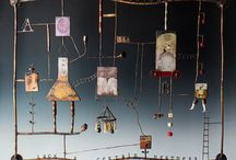 Mixed media/assemblage/sculpture / Things that are made from lots of different media