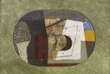Bryan Ingham / Bryan Ingham artist painter modern abstract st ives paintings kynance cove jug landscape