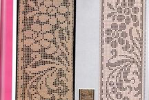Вязание крючком (филейное)