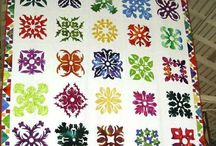 Hawaiian Quilts / I have a passion for Hawaiian quilts, so instead of browsing the whole internet for quilts I'm pinning and admiring I hope you do too. / by Cissy