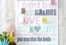 Wedding Inspiration / Not on the High Street Wedding Board
