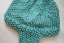 ear flap hat knitting patterns for baby boy