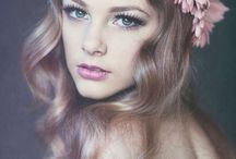 soft editorial curls headpieces