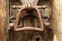 eski kapı tokmağı