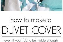 Make a duvet cover