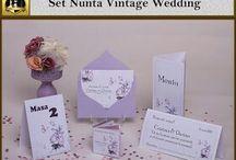 Set nunta Vintage Wedding