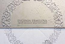 А Евгения Ермилова и скульптурная роспись