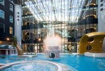 SPA & Water World in Tallinn / The relaxing spa offers you the opportunity to enjoy different types of saunas and swimming pools. The spa also has a poolside bar, Jacuzzi, salt water pool, children's pool and outdoor pool that is open all year round – everything you ever dreamt about is there!