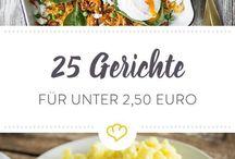 Gerichte für 2,50€