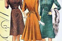 1937-44 fashion plates