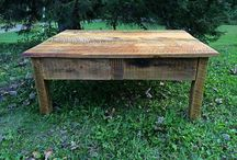 Reclaimed Wood Coffee Tables / Reclaimed Wood Coffee Tables