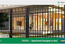 Ogrodzenie klasyczne BREMA
