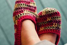 Crochet: Slippers/Socks/Booties / by Penny Lewis