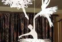 scrapbooking ballet