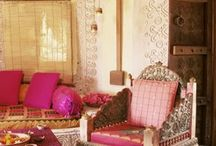 BOHEMIAN LIVING STYLE / Bohemian Home Decor... with a lot of colors