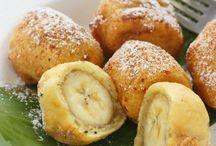 beignets, bugnes, pancakes