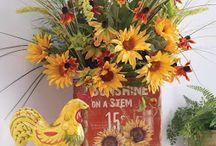 Flower arrangements / by Molly O'Hara Haefele