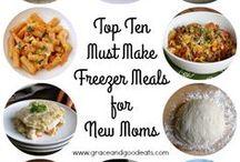 Freezer Meals - That First Week