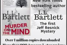Talking About My Books! / These graphics give a little info on the Jeff Resnick mysteries.