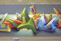 Model Pastel / Es el estilo más popular entre aquellos que no están dentro del movimiento del arte del graffiti. Lo que busca este estilo es parecido al del wild style, pues ambos quieren lograr un estilo propio y que llame la atención la complejidad que aporta la obra.   Fuente: http://www.tiposde.org/arte/1047-tipos-de-graffitis/#ixzz4QOQnWODO