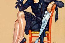 "media & context - project #2 ""20th Century Illustration & Design"""