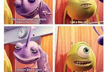 mo | monsters inc / Monsters Inc and Monsters University