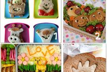 School Lunch Inspiration / Fun ideas to make school lunches exciting.