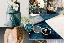 Wedding teal and copper / Teal and copper