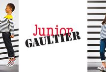 JUNIOR GAULTIER SS16 / This Collection creates a stylish and on trend fashions for the world of the little ones.