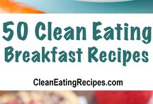 Best Clean Eating Breakfast Recipes / Follow this board for a huge assortment of Clean Eating Breakfast recipes so you can try a new recipe every morning!