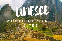 World Heritage Sites / UNESCO's designated world heritage sites.  See the best of what the world has to offer.