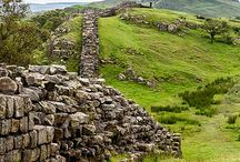 Route | Hadrian's Wall Path / 84 miles (134km)  ~  A route along the historic border path between Scotland and England. Beginning at Wallsend, on the River Tyne in the east and ending at Bowness on Solway, in the west. Hadrian's Wall is Europe's largest surviving Roman monument.