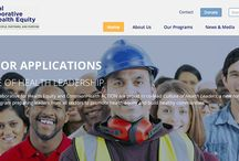 Non-Profit Websites / Refreshed and revitalized websites for non-profits.