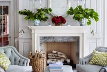 Fireplaces & Mantels / Inspiration to decorate your fireplace and mantel.