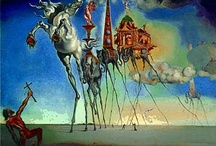 Dali / Wonderful..quirky...ridiculous....depraved even... but always interesting....a longtime favourite artist / by Kay D'Angelo