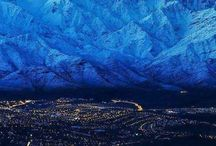 montañas moodboard